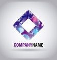 company name corporate template business vector image
