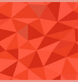 red polygonal 3d background seamless pattern vector image vector image