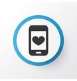 smartphone icon symbol premium quality isolated vector image