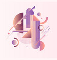 a surreal composition different abstract vector image
