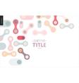 Light design banner vector image