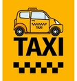 London cab taxi transport poster vector image