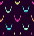 rabbit emoticons pattern-15 vector image