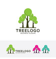 tree group logo vector image vector image