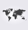 world map globe template for website vector image vector image