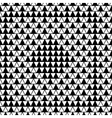 Square and triangle seamless pattern vector image