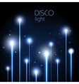 Abstract neon disco background vector image vector image