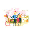 birthday or anniversary home party concept vector image vector image