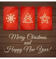 Christmas card 2 vector image