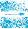 Deep blue water abstract background vector image vector image