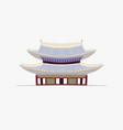 Doodle flat pagoda in