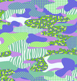 purple and green camouflage vector image vector image