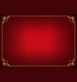 red circle link chinese abstract background vector image vector image