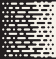 seamless irregular lines halftone black vector image vector image