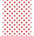 seamless stars pattern vector image vector image