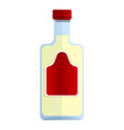 tequila bottle icon cartoon style vector image vector image