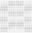 adelaide australia seamless pattern vector image vector image