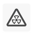 alarm icon black vector image