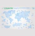 america asia africa europe australia oceania vector image vector image
