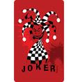 Joker cartoon vector image vector image
