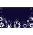 nihgt snowflakes vector image vector image