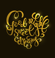 Romantic quote Good night Sweet dreams vector image