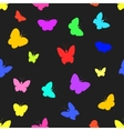 Seamless of butterflies vector image vector image