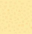 seamless pattern egyptian hieroglyphs ethnicity vector image