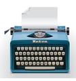typewriter xxl icon vector image