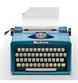 vector typewriter xxl icon vector image vector image