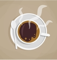 break for a cup of coffee vector image