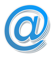 Email Symbol vector image
