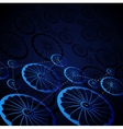 Abstract wheels vector image