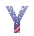 american letter Y vector image vector image