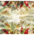 Beautiful floral background texture vector image vector image