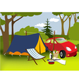 Picnic place vector | Price: 1 Credit (USD $1)