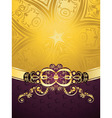 Purple Decorative Background6 vector image vector image