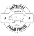 quality farm fresh vector image