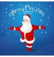 Santa Claus greeting vector image vector image