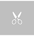 shears computer symbol vector image