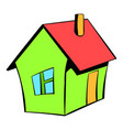 small cottage icon icon cartoon vector image vector image
