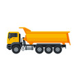 truck construction machinery heavy special vector image vector image