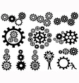 gears set vector image