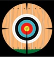 On Target vector image