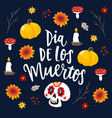 Dia de los muertos greeting card invitation