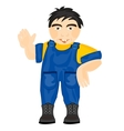 Man worker vector image vector image