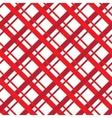 Red square seamless pattern vector image vector image