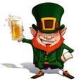 St Patrick Cheers vector image