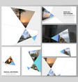 the minimalistic abstract layouts modern vector image