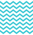blue seamless zigzag pattern on white vector image